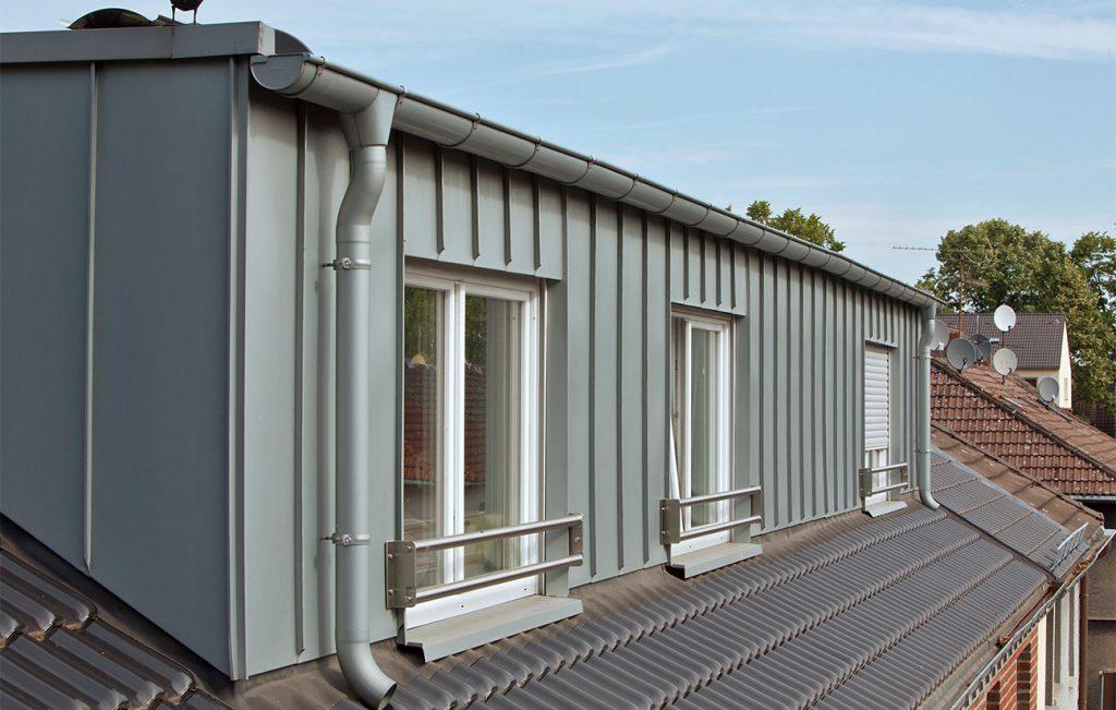 Fassadensysteme aus Zink von der Engelhardt Dach & Wand GmbH