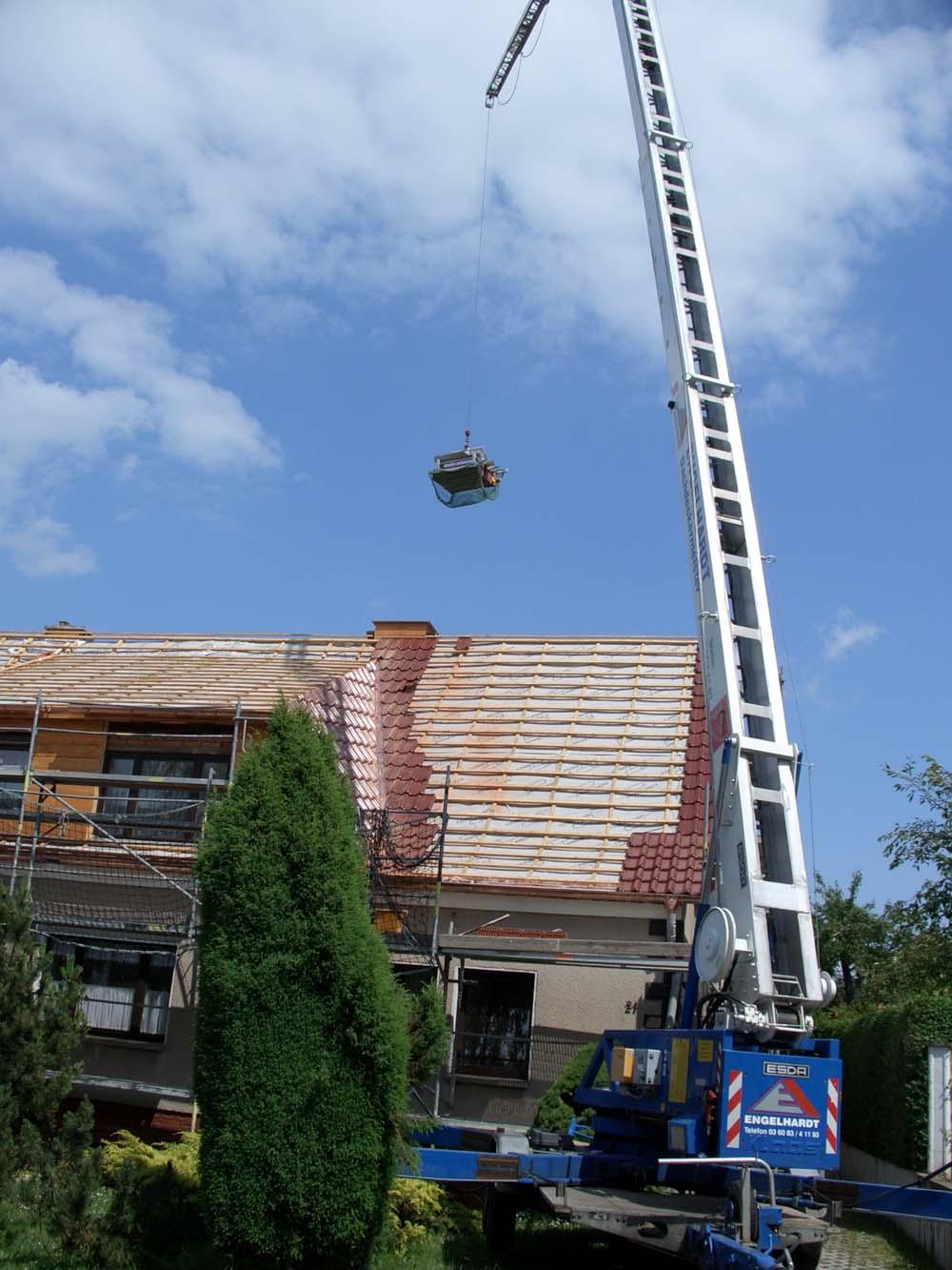 Kranservice der Engelhardt Dach & Wand GmbH