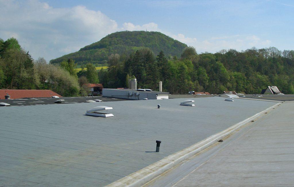 Flachdach, Arbeit der Engelhardt Dach & Wand GmbH