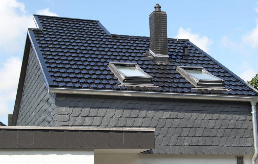 Steildach eines Wohnhauses in Göttingen, Arbeit der Engelhardt Dach & Wand GmbH