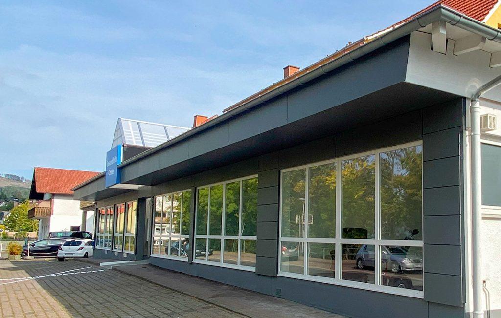 Fassadengestaltung, Arbeit der Engelhardt Dach & Wand GmbH
