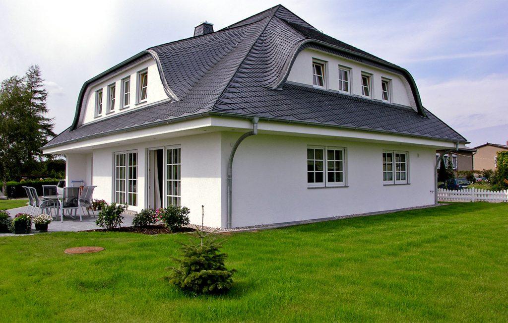 Schieferdach, Schuppen-Deckung mit Schiefer von Rathscheck, Partner der Engelhardt Dach & Wand GmbH