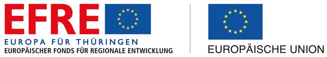 Logo des Europäischen Fonds für regionale Entwicklung (EFRE) Thüringen