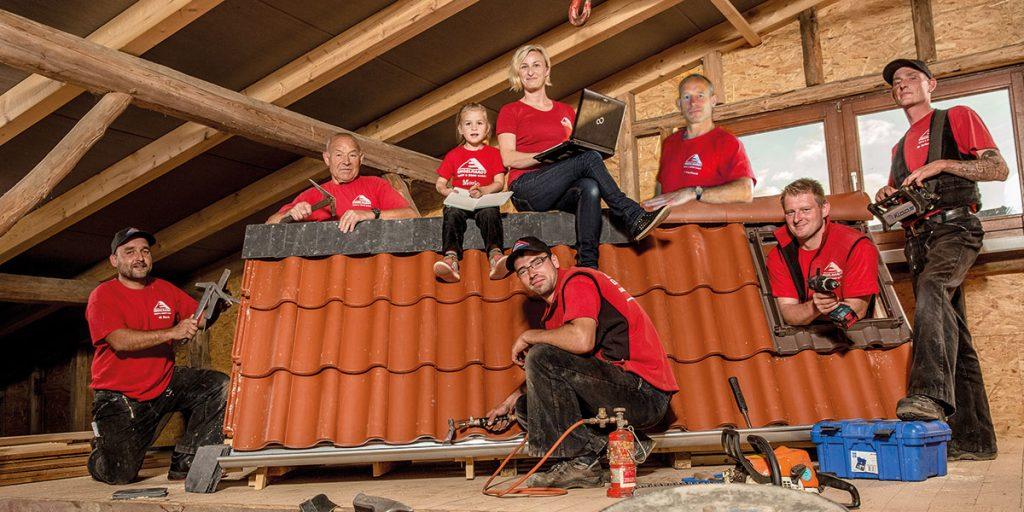Team der Engelhardt Dach & Wand GmbH