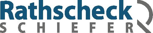 Logo der Rathscheck Schiefer und Dach-Systeme, Partner der Engelhardt Dach & Wand GmbH